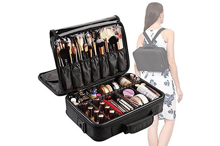 Nylon multicolored Make Up Bag
