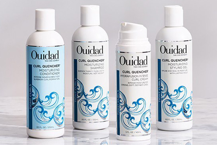 Ouidad Curl Quencher Moisturizing Shampoo and Conditioner