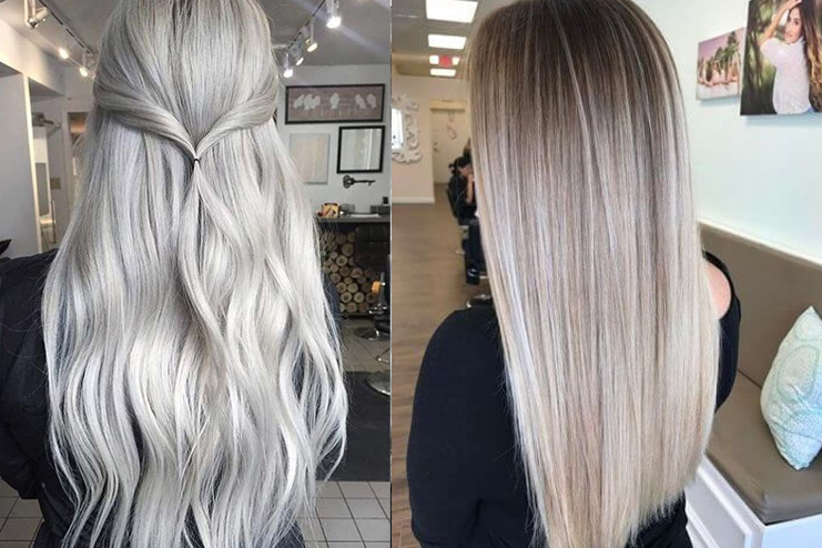 Silver and Champagne