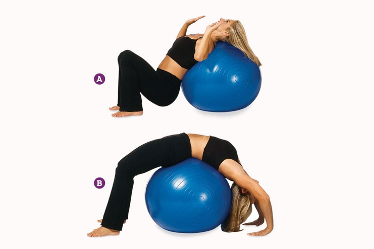 Wheel Posture on a Stability Ball
