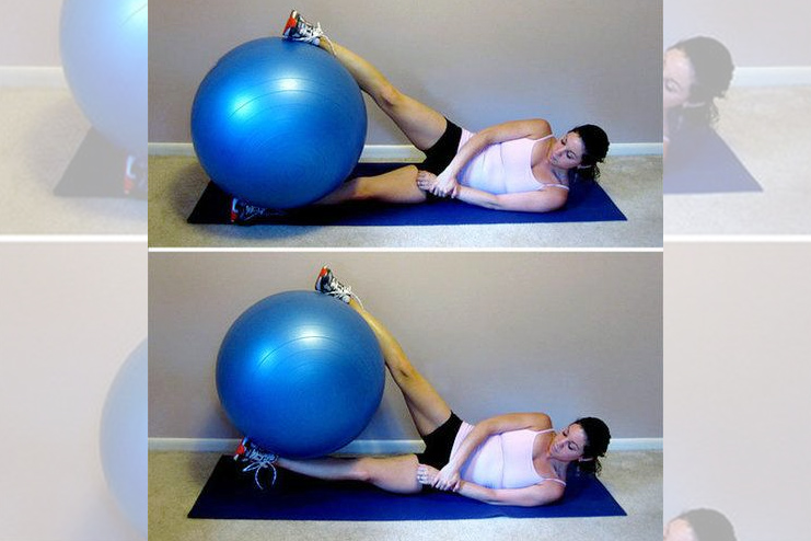 Stability workout for tight thighs