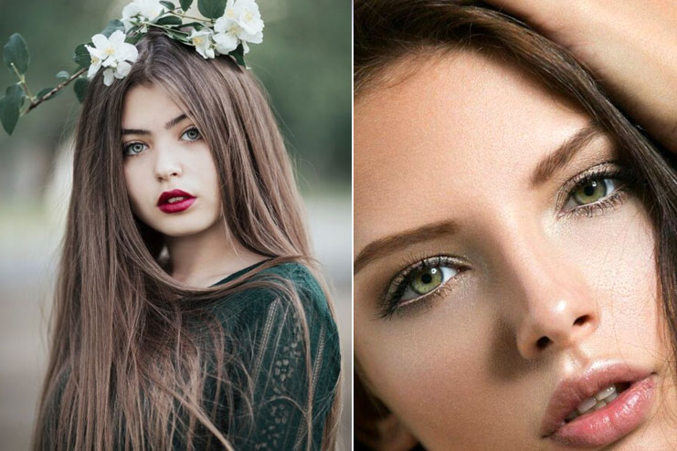 18 Brilliant Hair Color For Green Eyes