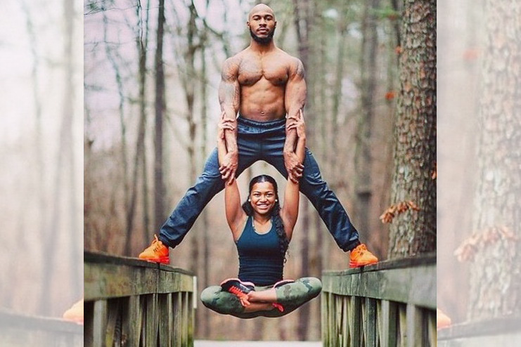Couple Balancing Workout