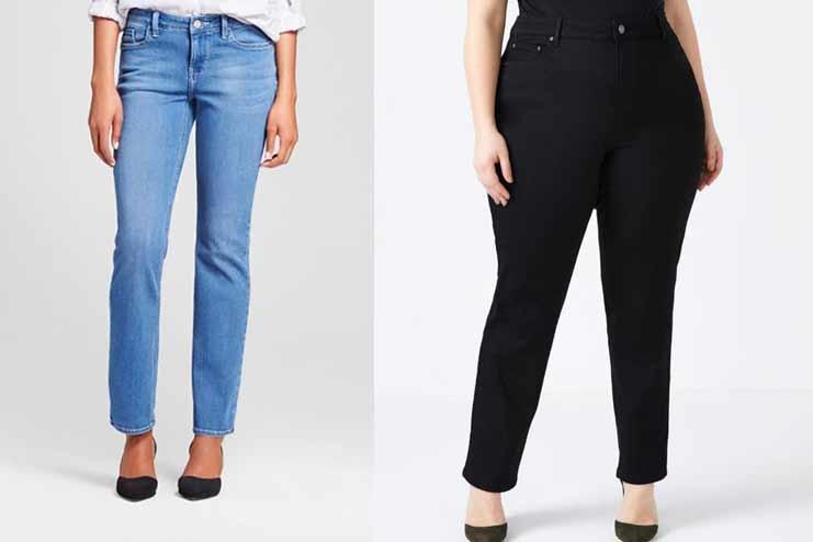 Straight Fit Jean