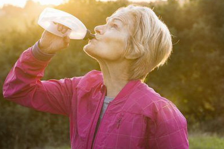 Get self-sufficient on your water intake