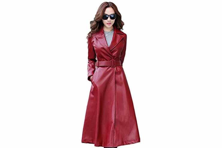 Frock Red Long Waist Coat