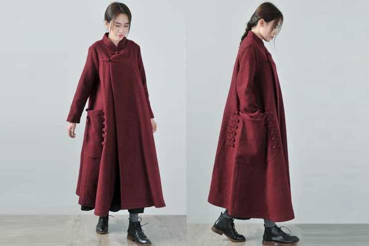 Winter Cape Coat