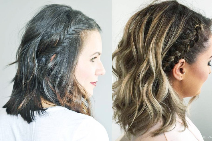 Styles to braid your bobbed hair