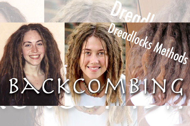 Backcombing Dreadlocks