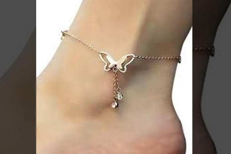 Have a look at this anklet
