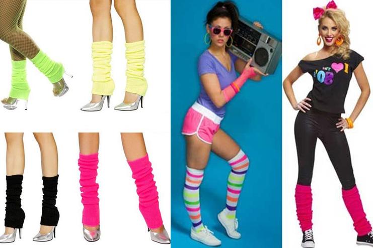 Leg Warmers Flashy in the 80s