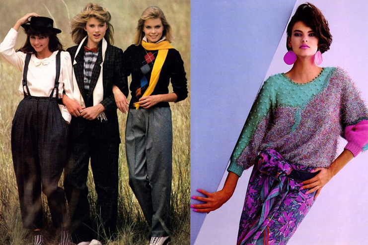 Mufflers and hats Inspired from the 1980s