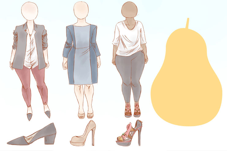 Pear Shaped Body Type