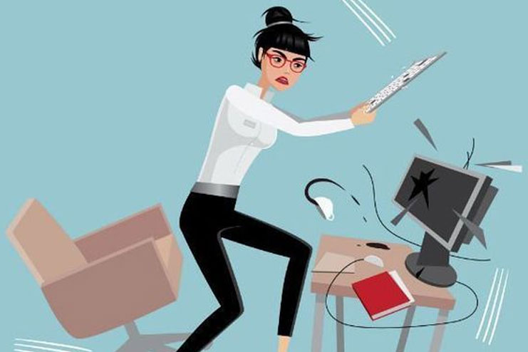 Avoid Actions That Provoke Your Boss