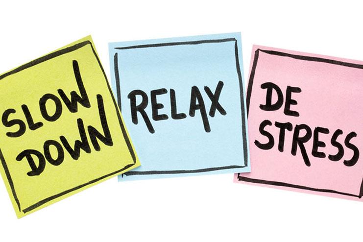 Ensure to De-stress