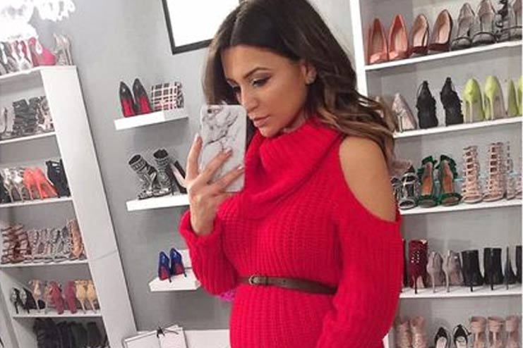 Red-Turtle-Neck-Dress