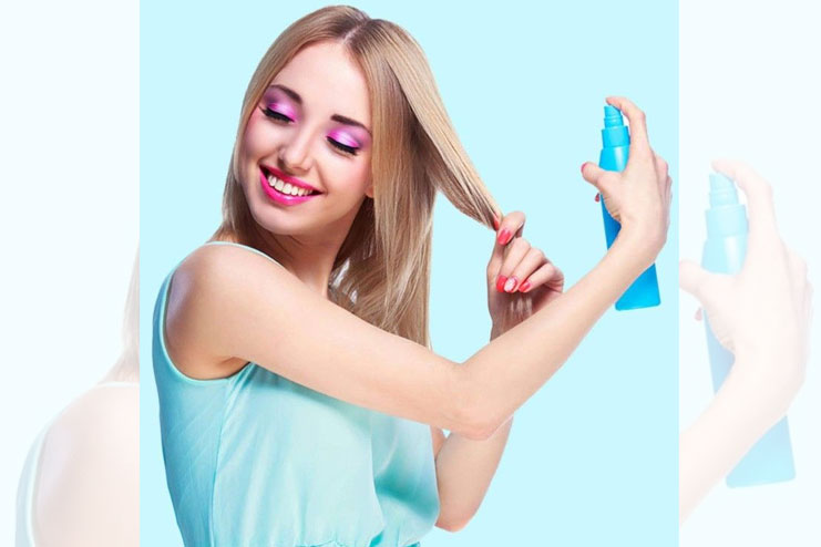 Try Heat Protectants Shield To The Hair