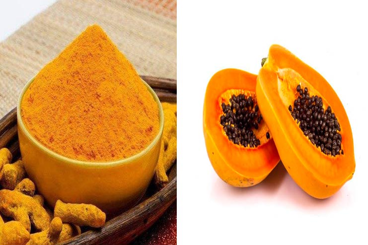 Turmeric-Powder-Papaya